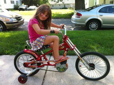 Grace new bike