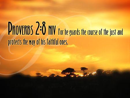 Proverbs 2_8