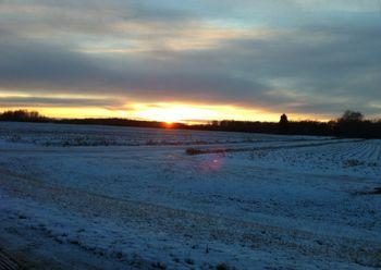 MI sunset