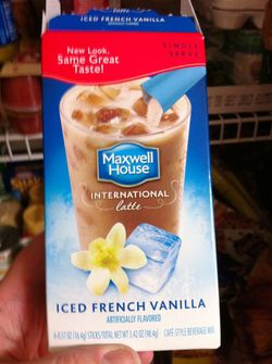 Iced french vanilla
