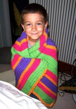 Jacob_modeling_blanket